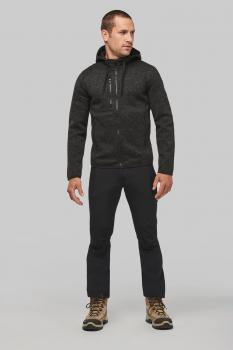 Pánská mikina s kapucí Men´s heather hoodie