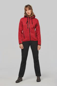 Dámská mikina s kapucí Men´s heather hoodie