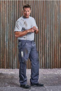 Pánské pracovní kalhoty Heavy Duty střední