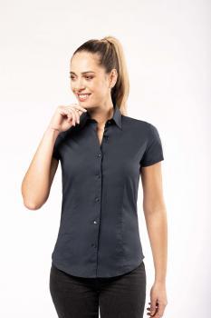 Dámská strečová košile s krátkým rukávem