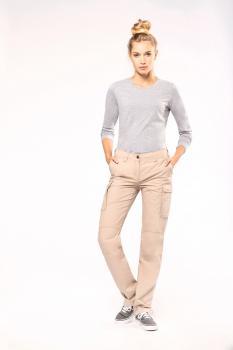 Dámské letní kapsáčové kalhoty