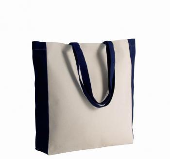Dvoubarevná nákupní taška