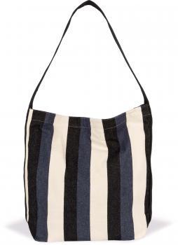 Recyklovaná taška přes rameno - Pruhovaný vzor