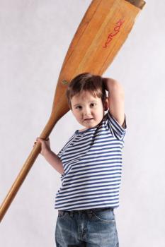 Dětské námořnické tričko - zvětšit obrázek