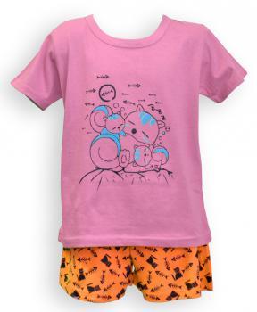 Dětské pyžamo - krátký rukáv - zvětšit obrázek