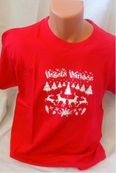 Unisex tričko - Veselé Vánoce