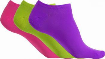 Kotníkové ponožky z mikrovlákna - 3páry - Výprodej