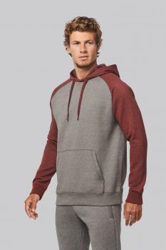 Mikina unisex Adult two-tone hooded sweatshirt - zvětšit obrázek