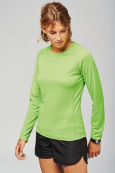 Dámské (dívčí - dorost.) sportovní tričko dlouhý rukáv - Výprodej