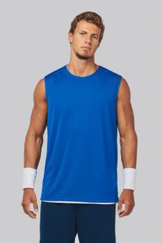Basketbalový dres - oboustranné tričko bez rukávů