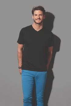 Pánské tričko Classic-T V-neck - zvětšit obrázek
