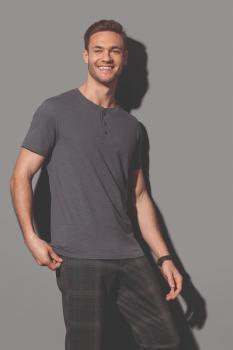 Pánské tričko s knoflíčky Shawn Henley