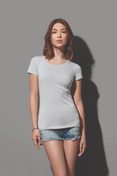 Dámské tričko CLAIRE crew neck - zvětšit obrázek
