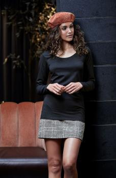 Dámské strečové tričko dl. rukáv Tee Extra Lenght - Výprodej